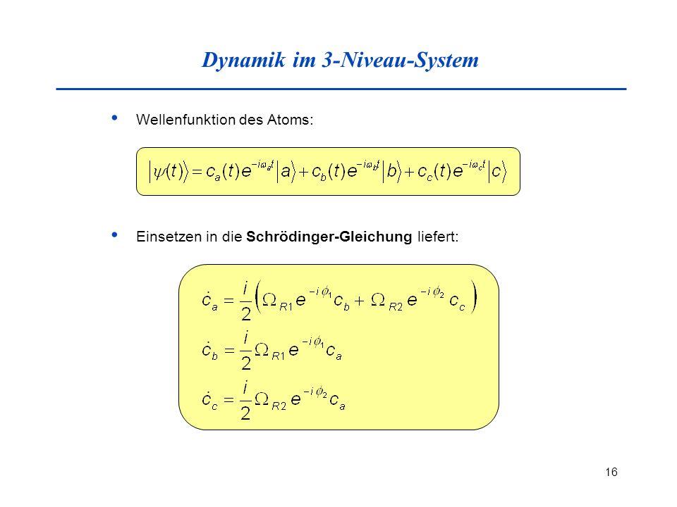 Dynamik im 3-Niveau-System