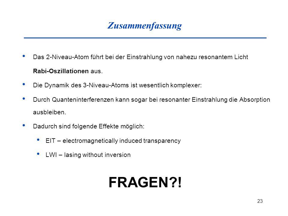 FRAGEN ! Zusammenfassung