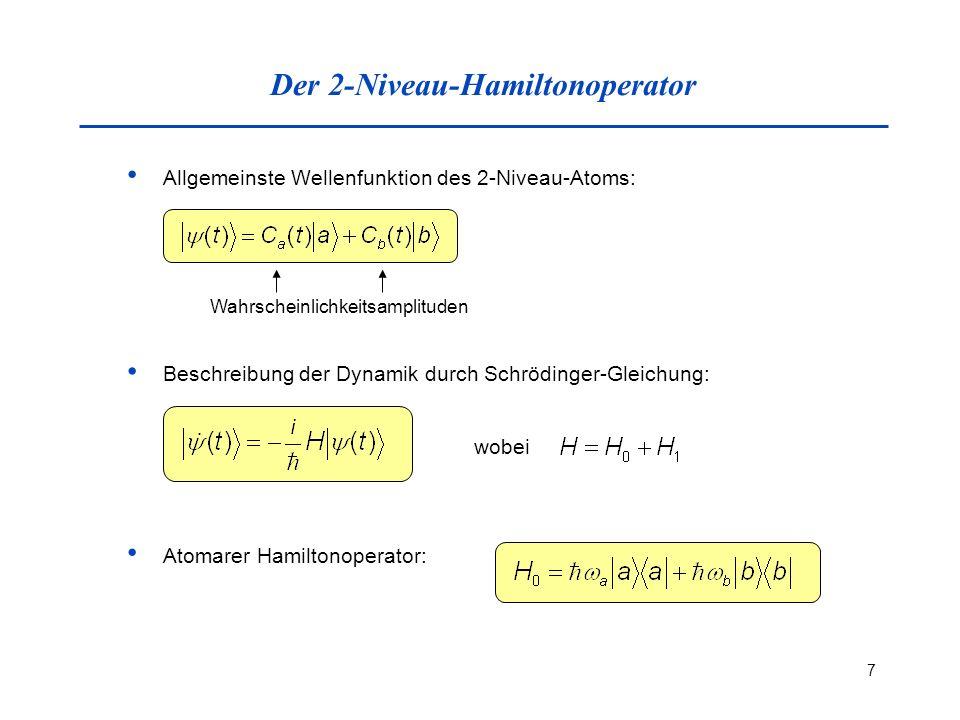 Der 2-Niveau-Hamiltonoperator