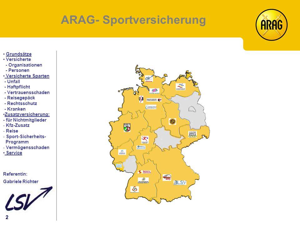 ARAG- Sportversicherung