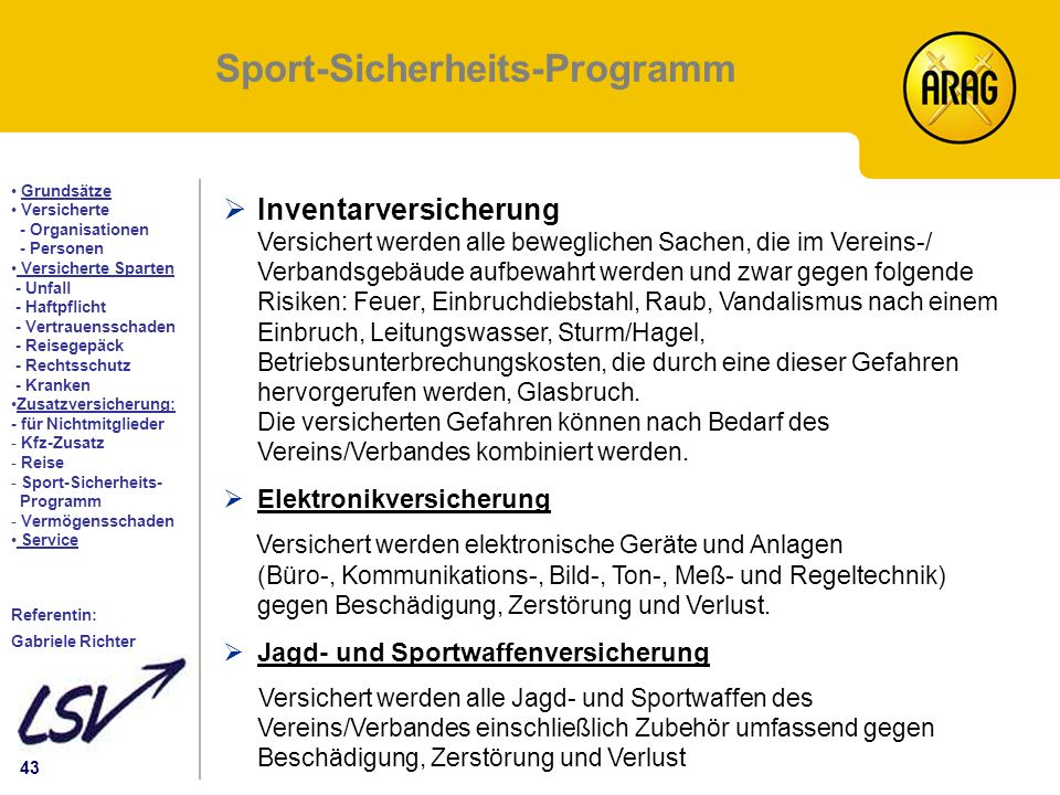 Sport-Sicherheits-Programm