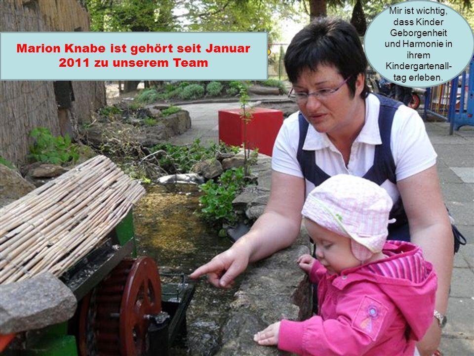 Marion Knabe ist gehört seit Januar 2011 zu unserem Team