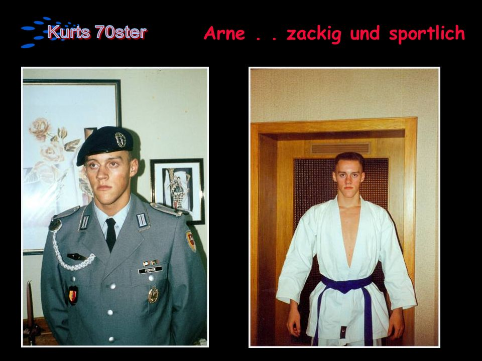 Arne . . zackig und sportlich