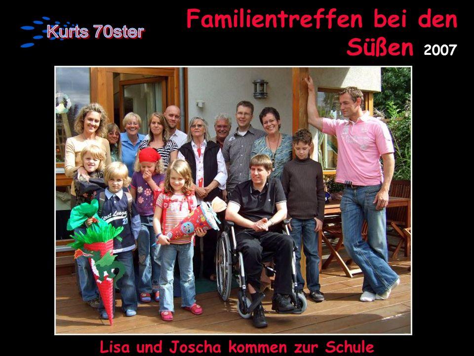 Familientreffen bei den Süßen 2007