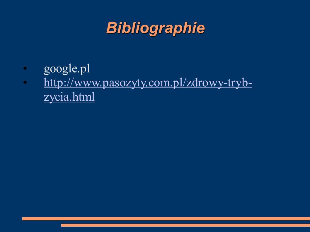 Bibliographie google.pl
