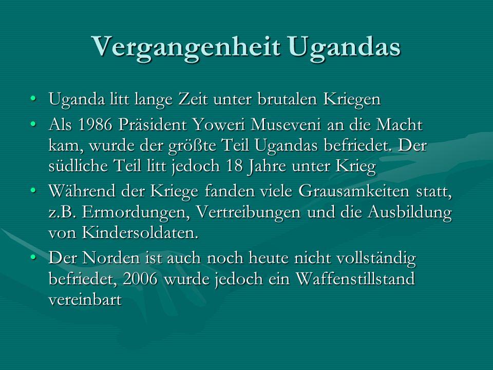 Vergangenheit Ugandas