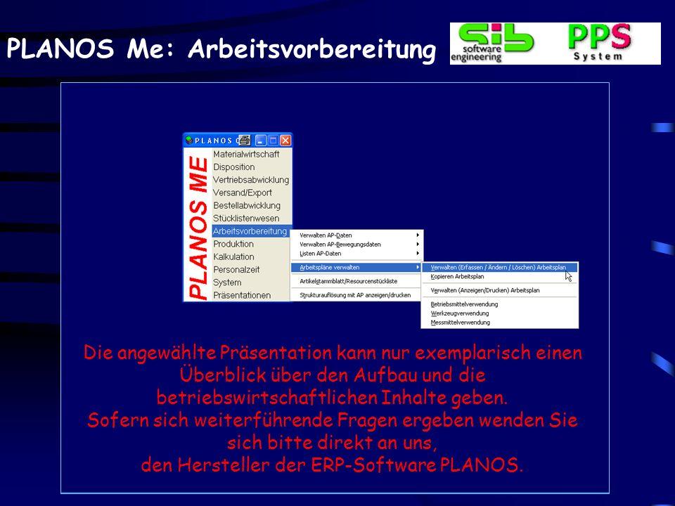 den Hersteller der ERP-Software PLANOS.