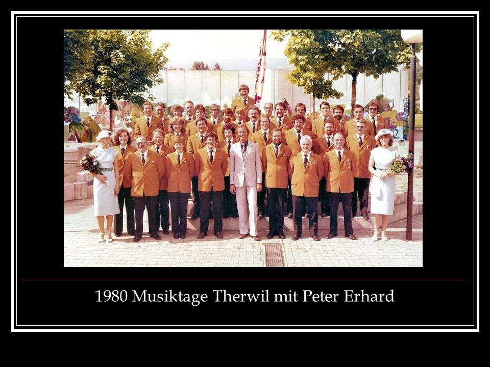 1980 Musiktage Therwil mit Peter Erhard