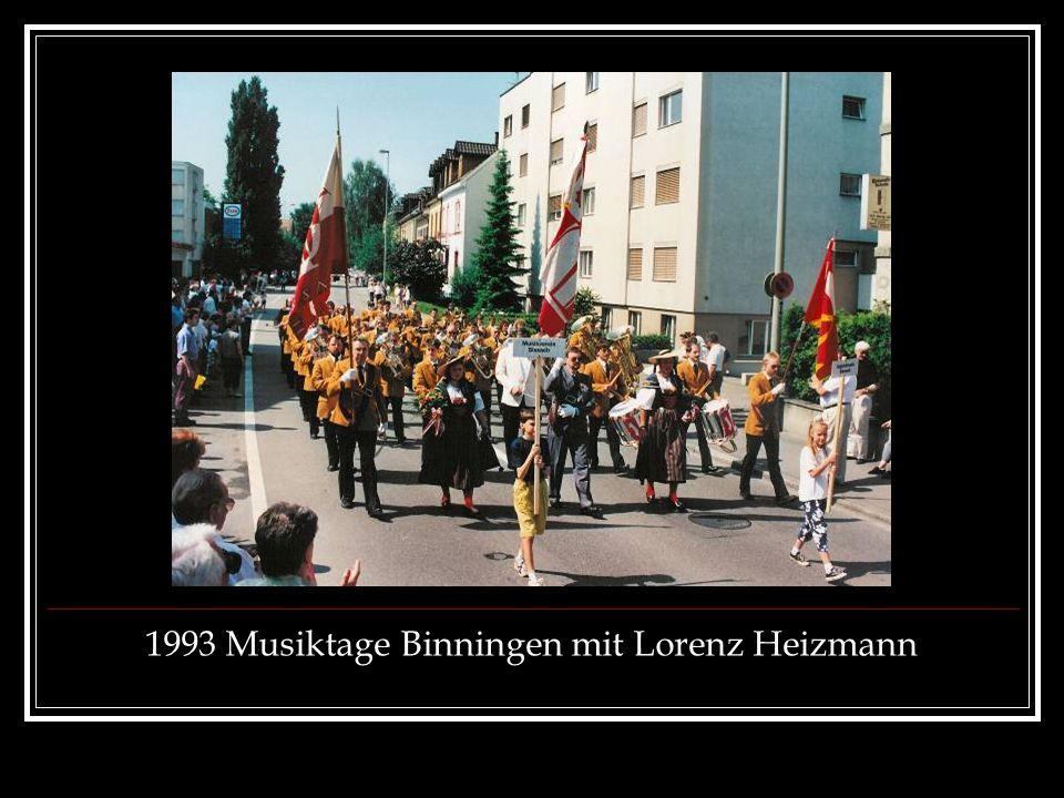 1993 Musiktage Binningen mit Lorenz Heizmann
