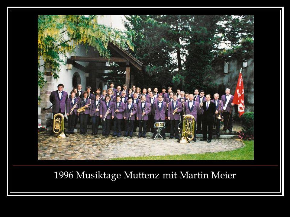 1996 Musiktage Muttenz mit Martin Meier