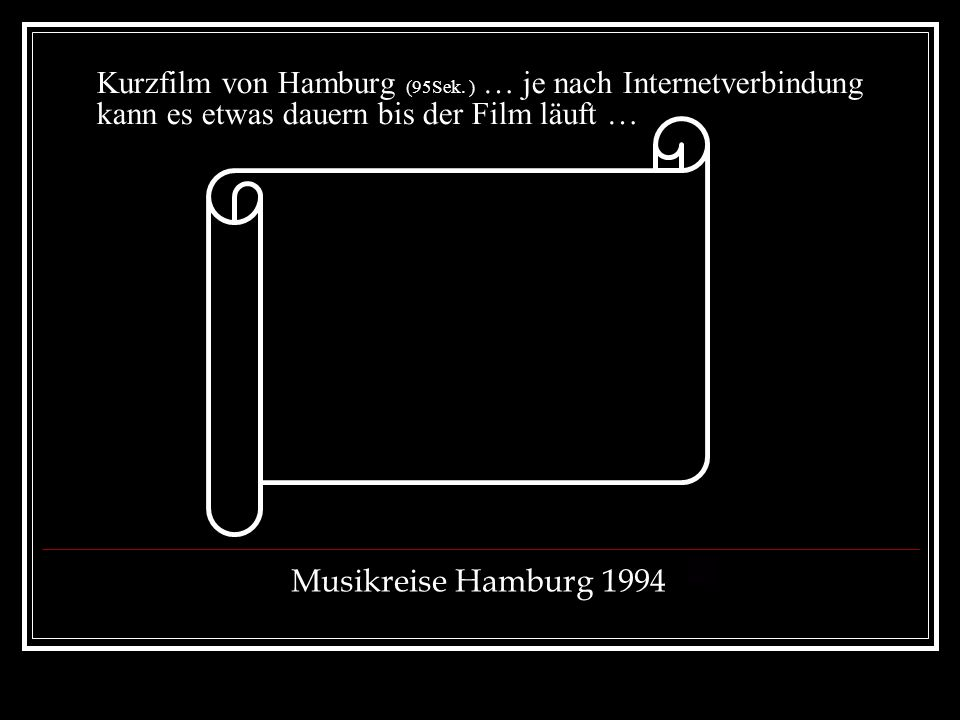 Kurzfilm von Hamburg (95Sek
