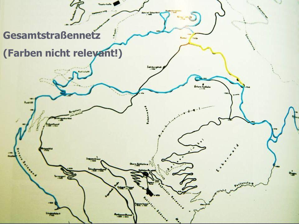 Gesamtstraßennetz (Farben nicht relevant!)