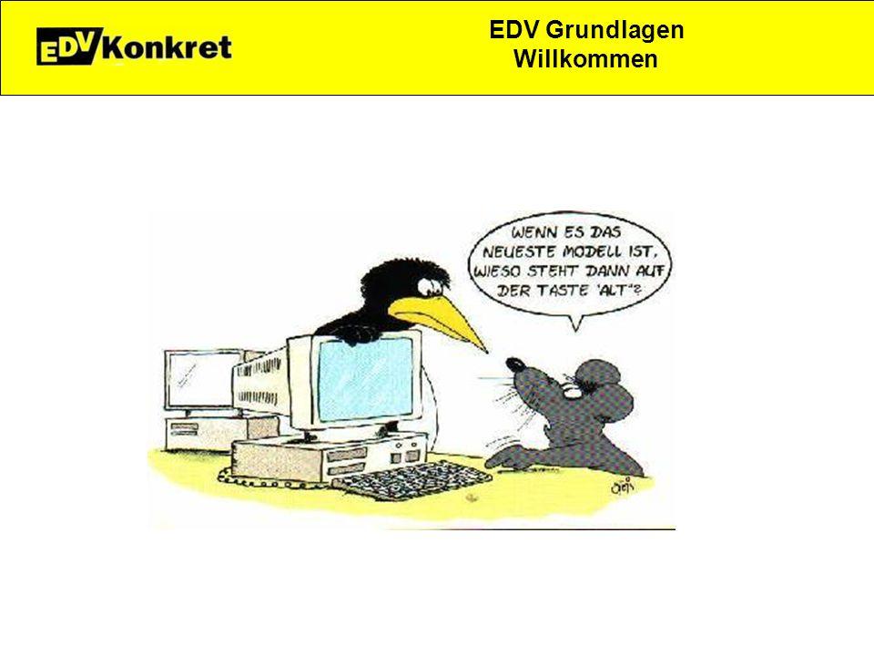 EDV Grundlagen Willkommen