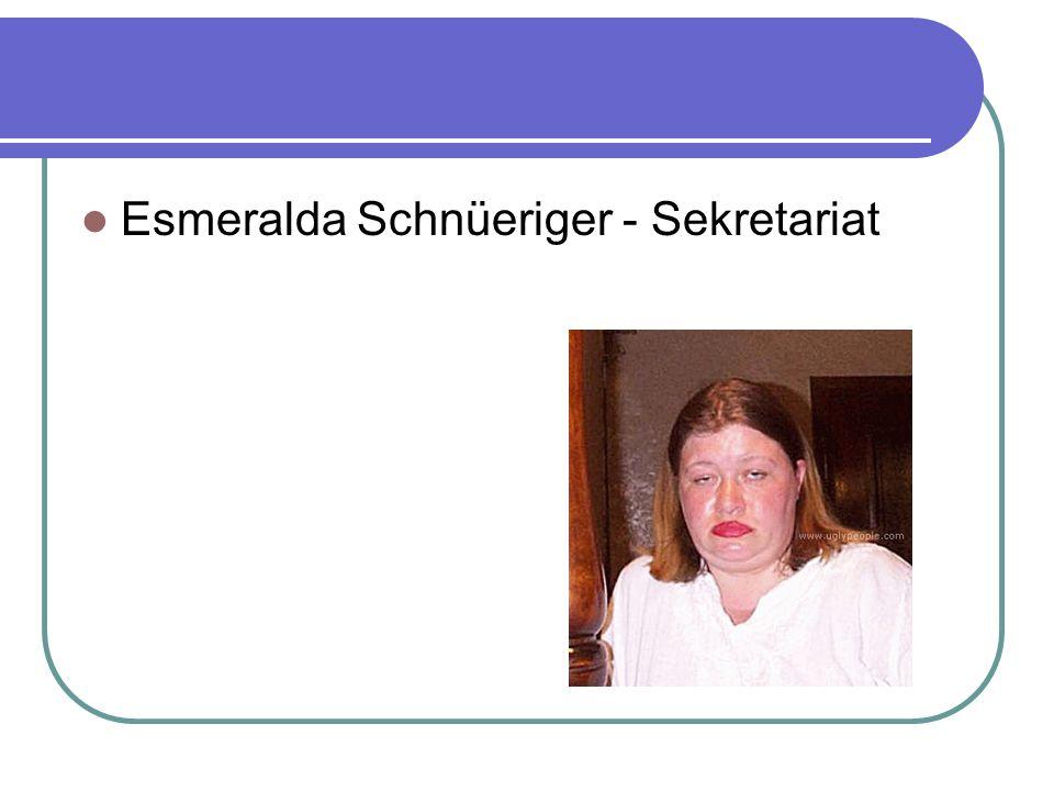 Esmeralda Schnüeriger - Sekretariat