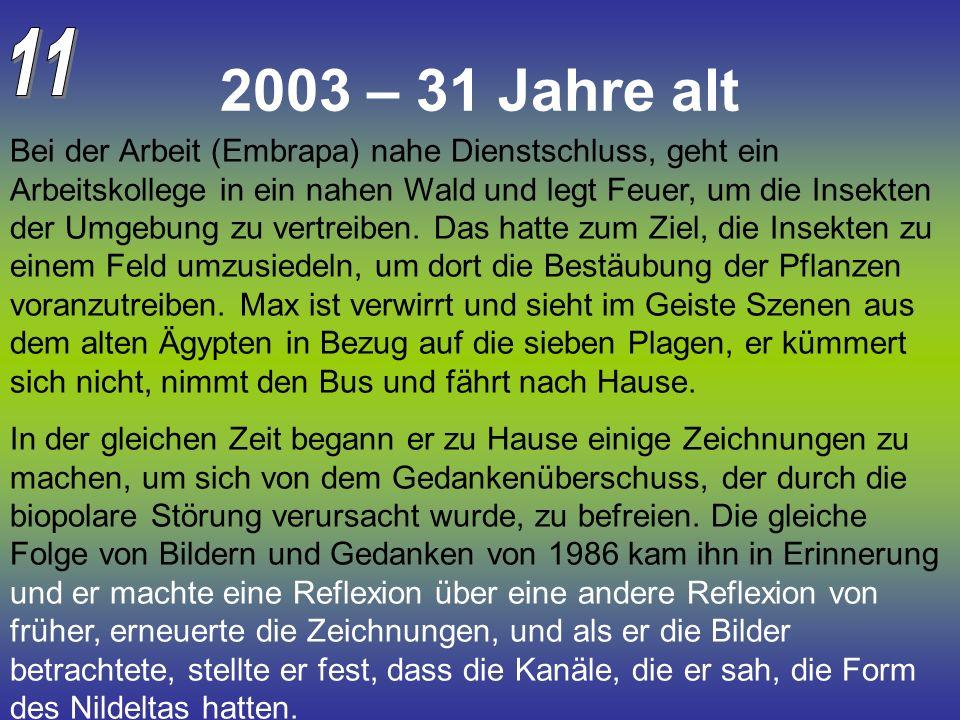 11 2003 – 31 Jahre alt.