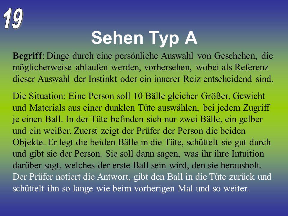 19 Sehen Typ A.