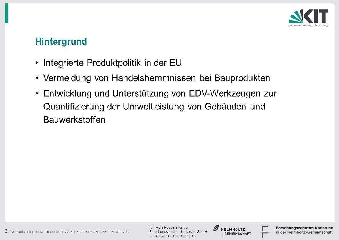 Integrierte Produktpolitik in der EU