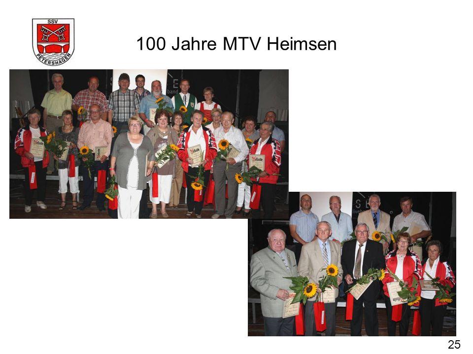 100 Jahre MTV Heimsen 25