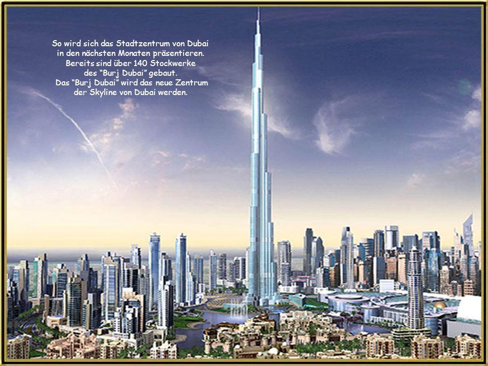 So wird sich das Stadtzentrum von Dubai in den nächsten Monaten präsentieren.