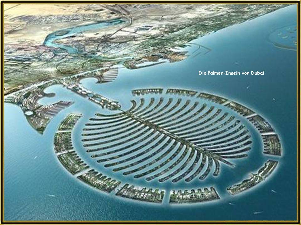 Die Palmen-Inseln von Dubai
