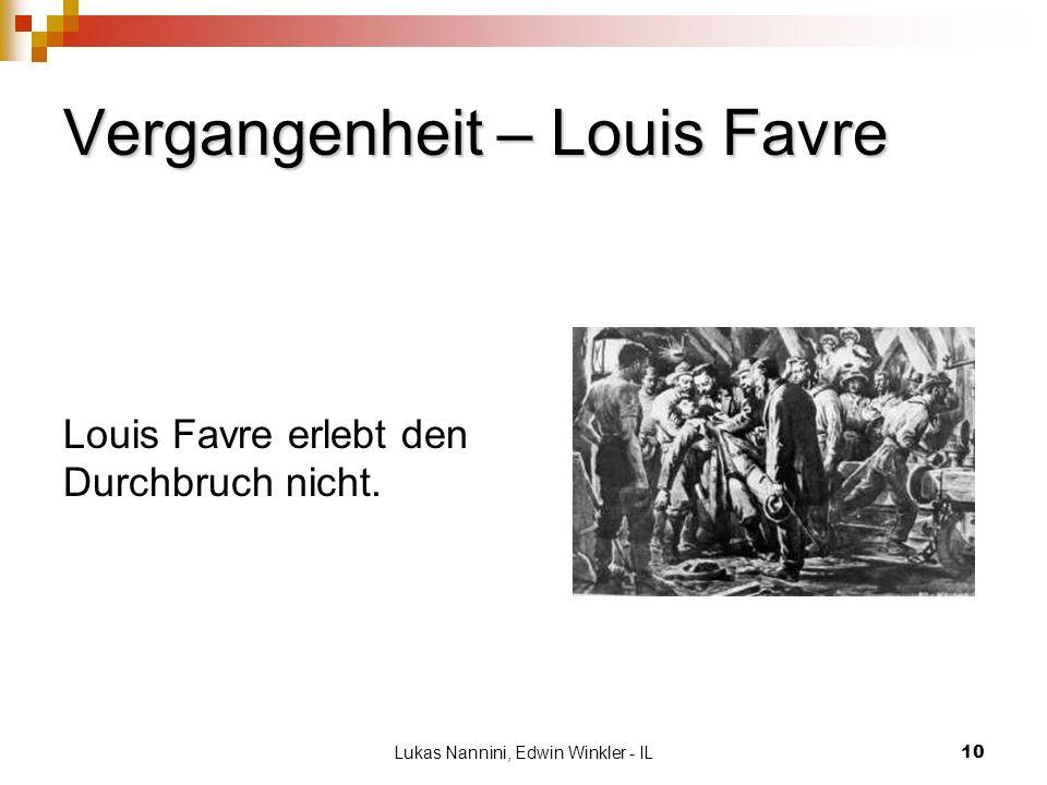 Vergangenheit – Louis Favre