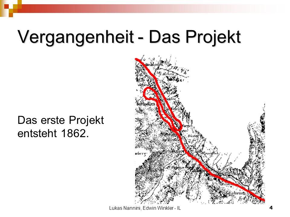 Vergangenheit - Das Projekt