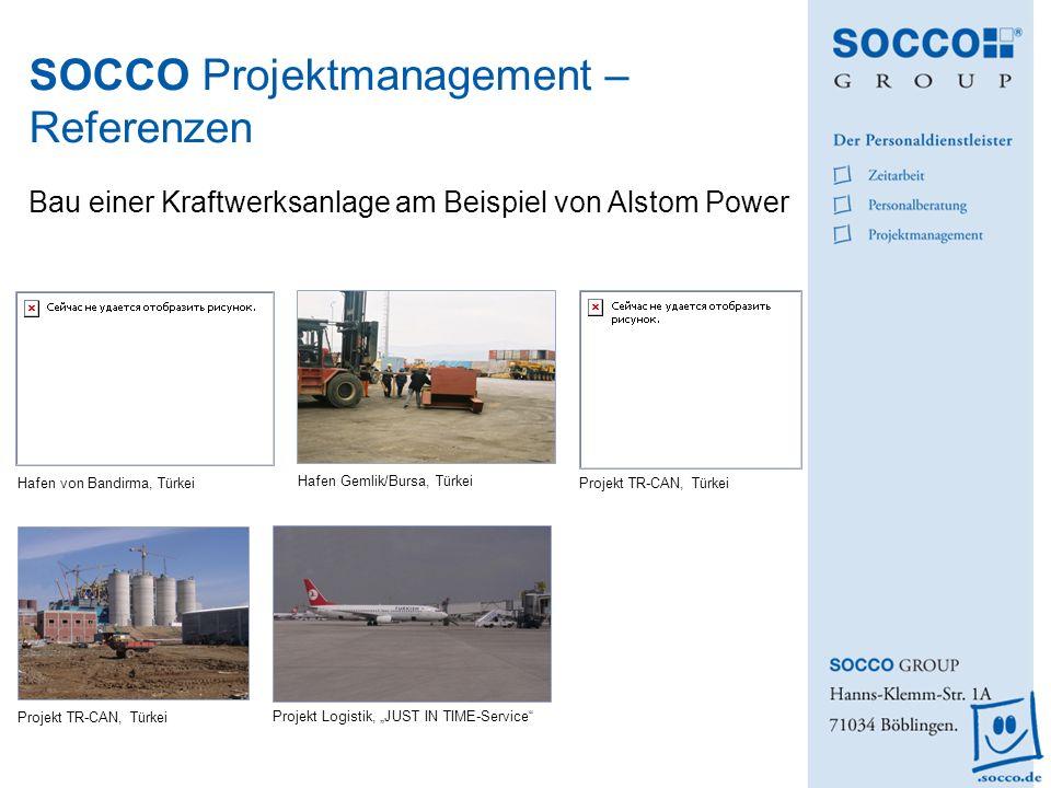 SOCCO Projektmanagement – Referenzen Bau einer Kraftwerksanlage am Beispiel von Alstom Power