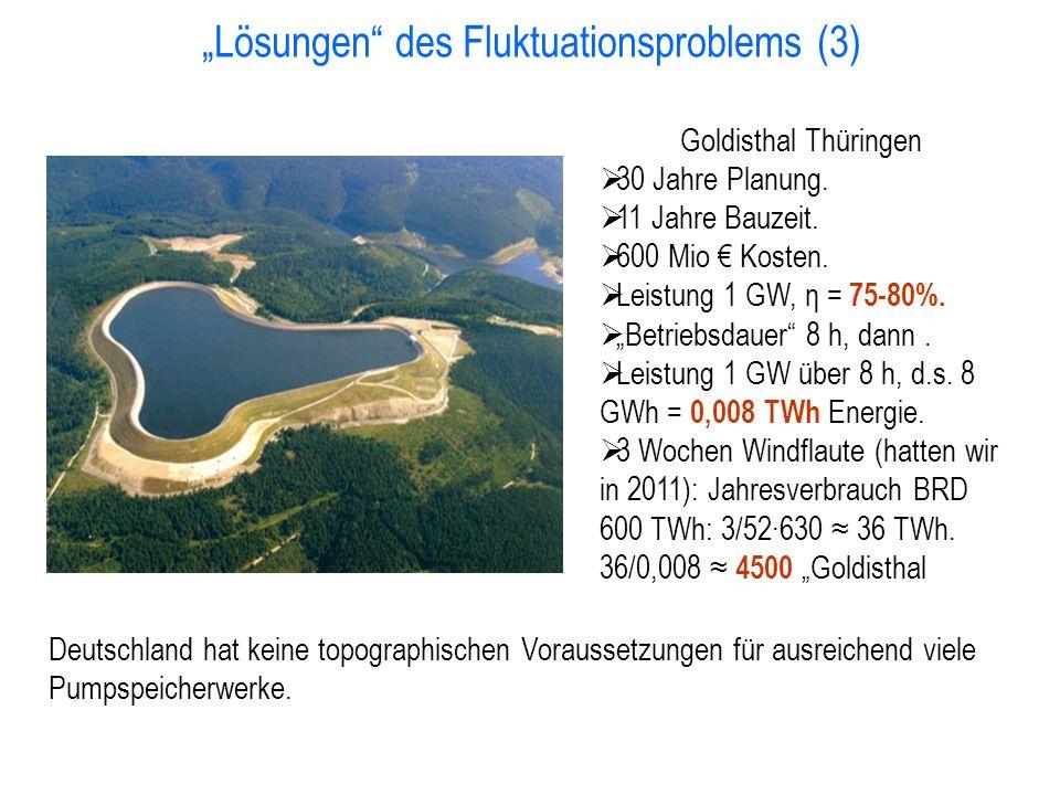 """""""Lösungen des Fluktuationsproblems (3)"""