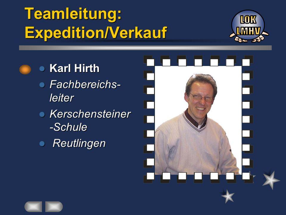 Teamleitung: Expedition/Verkauf