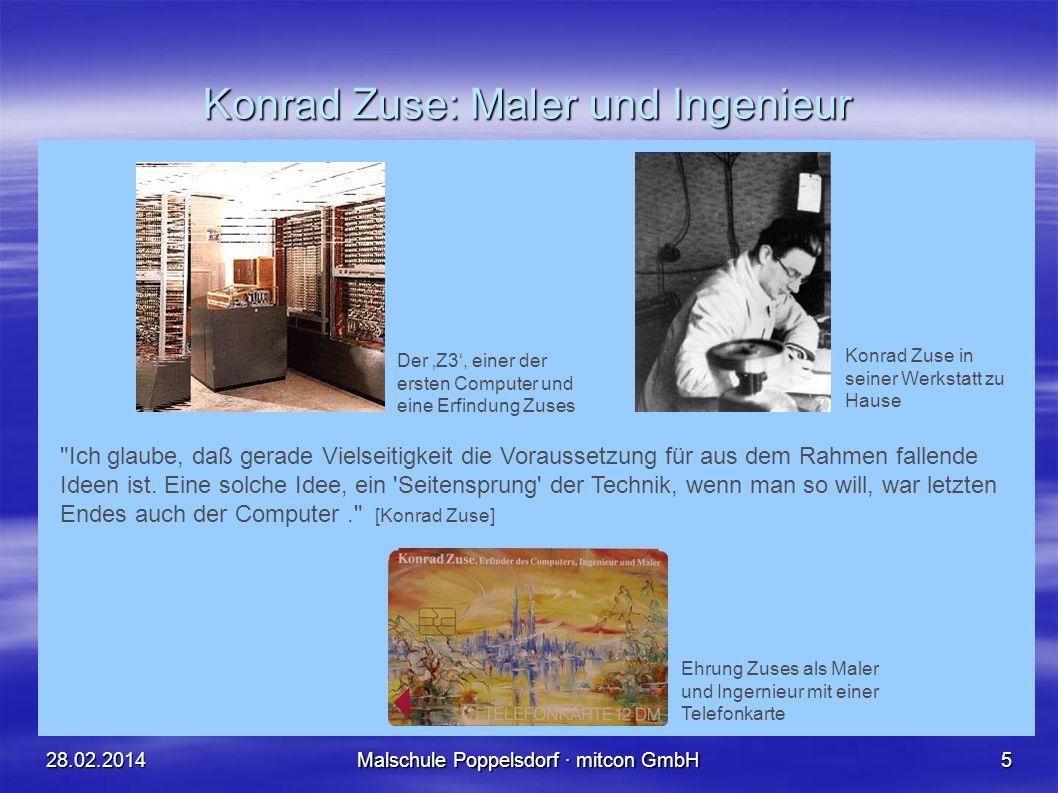 Konrad Zuse: Maler und Ingenieur
