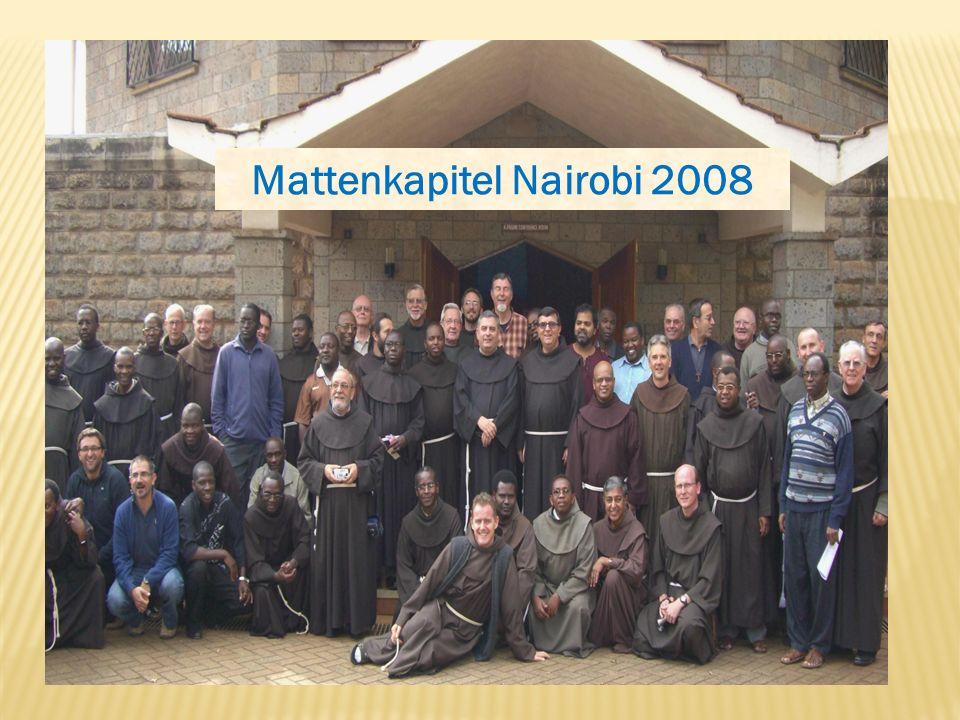 Mattenkapitel Nairobi 2008