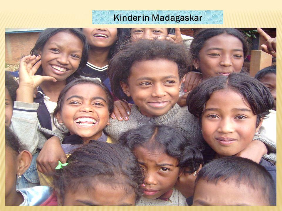 Kinder in Madagaskar