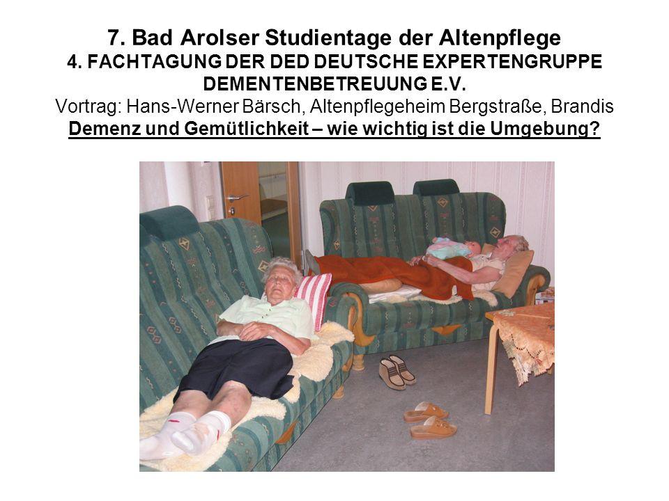 7. Bad Arolser Studientage der Altenpflege 4
