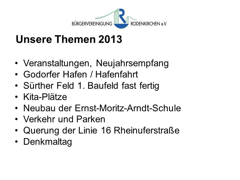 Unsere Themen 2013 Veranstaltungen, Neujahrsempfang