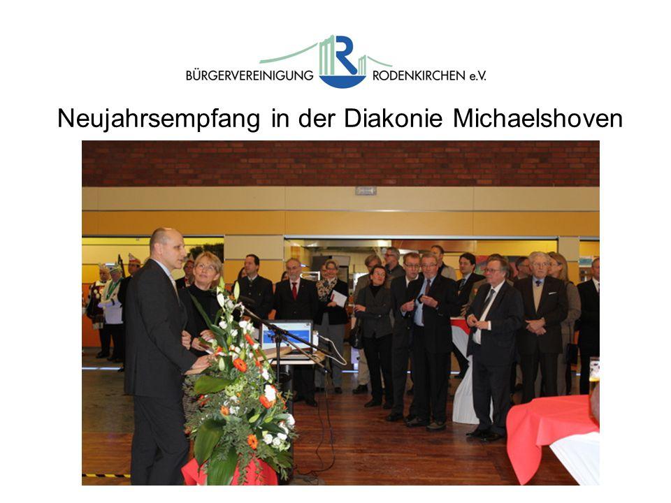 Neujahrsempfang in der Diakonie Michaelshoven