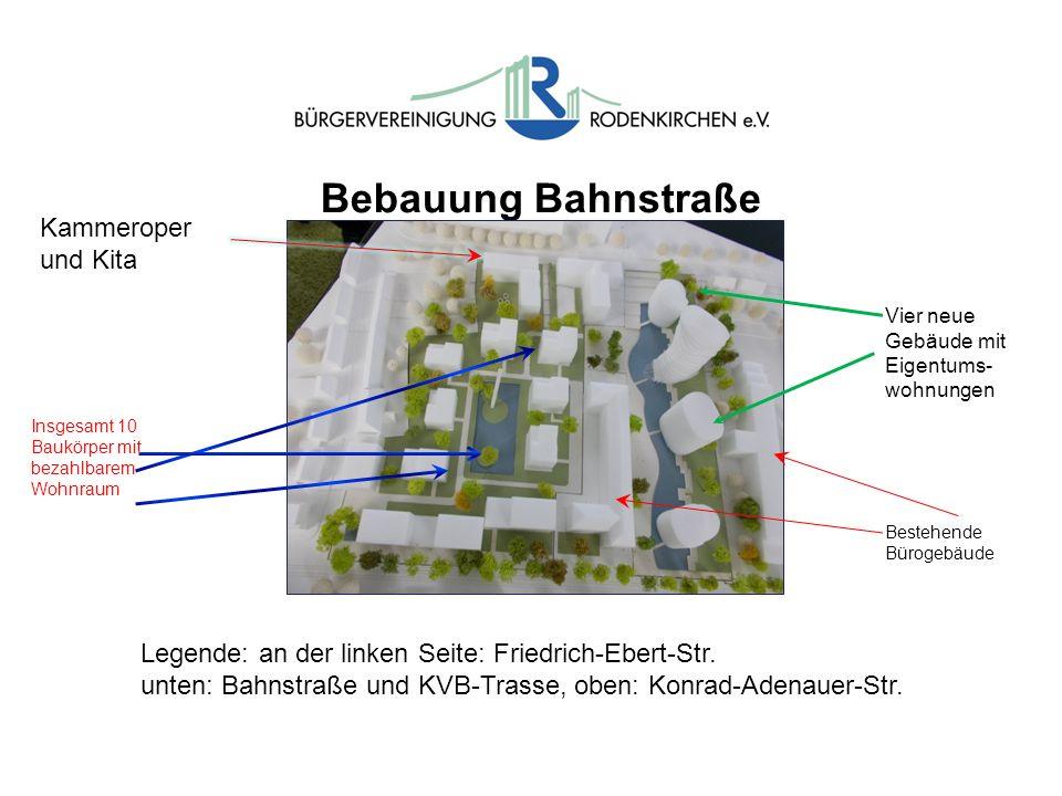 Bebauung Bahnstraße Kammeroper und Kita