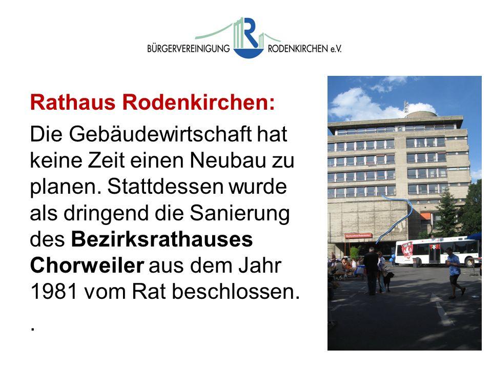 Wahlen Rathaus Rodenkirchen: