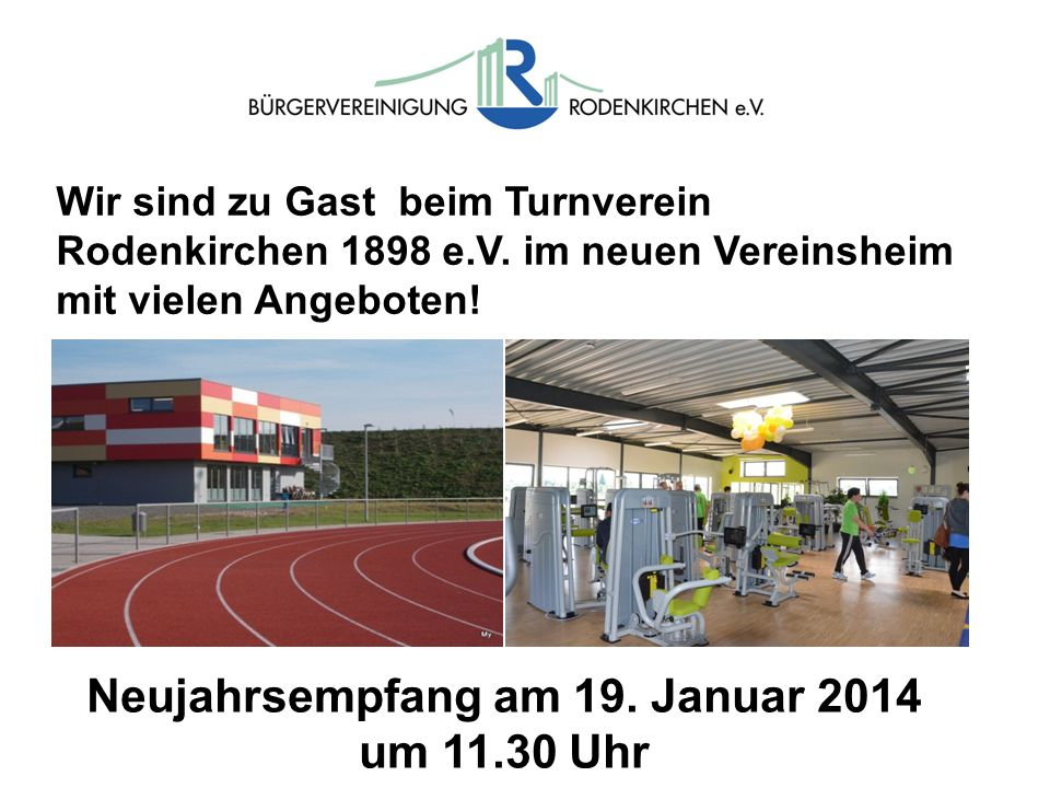 Neujahrsempfang am 19. Januar 2014