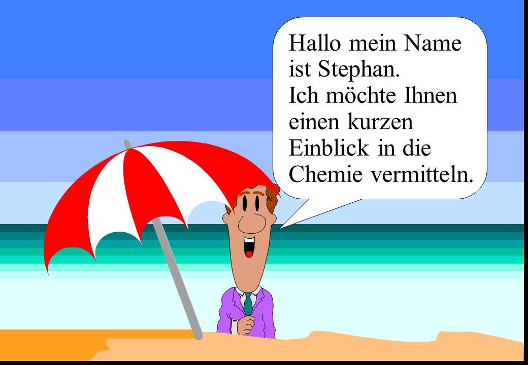 Hallo mein Name ist Stephan.