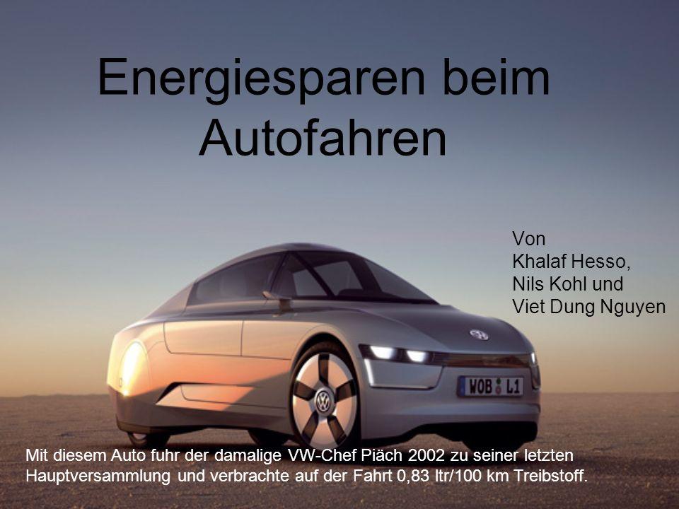 Energiesparen beim Autofahren