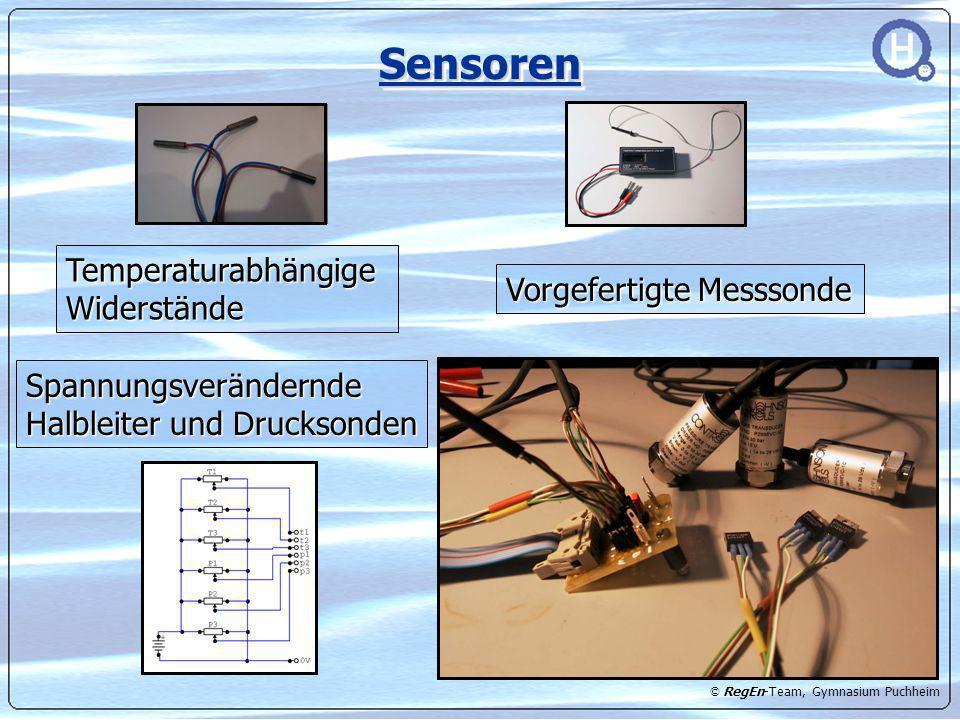 Sensoren Temperaturabhängige Widerstände Vorgefertigte Messsonde