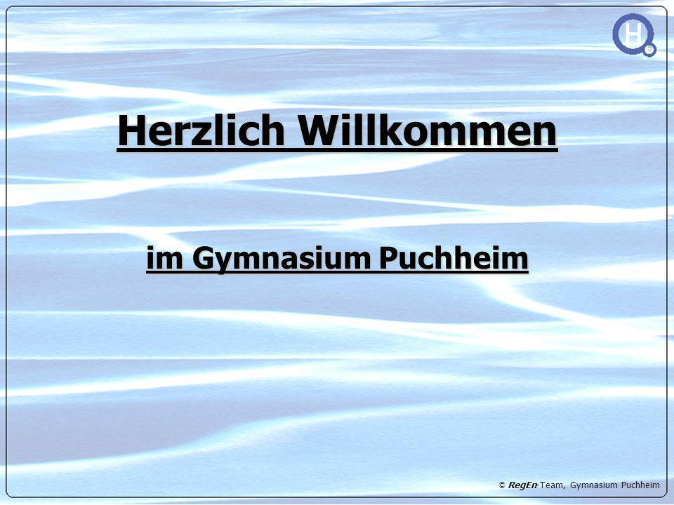 Herzlich Willkommen im Gymnasium Puchheim
