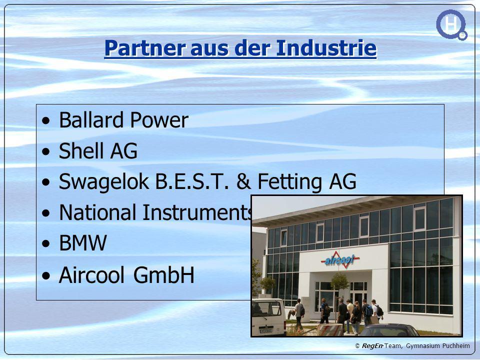 Partner aus der Industrie