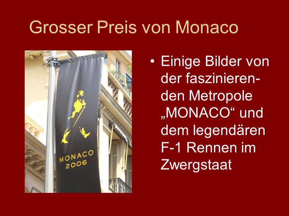 Grosser Preis von Monaco