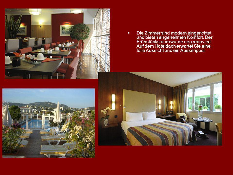 Die Zimmer sind modern eingerichtet und bieten angenehmen Komfort