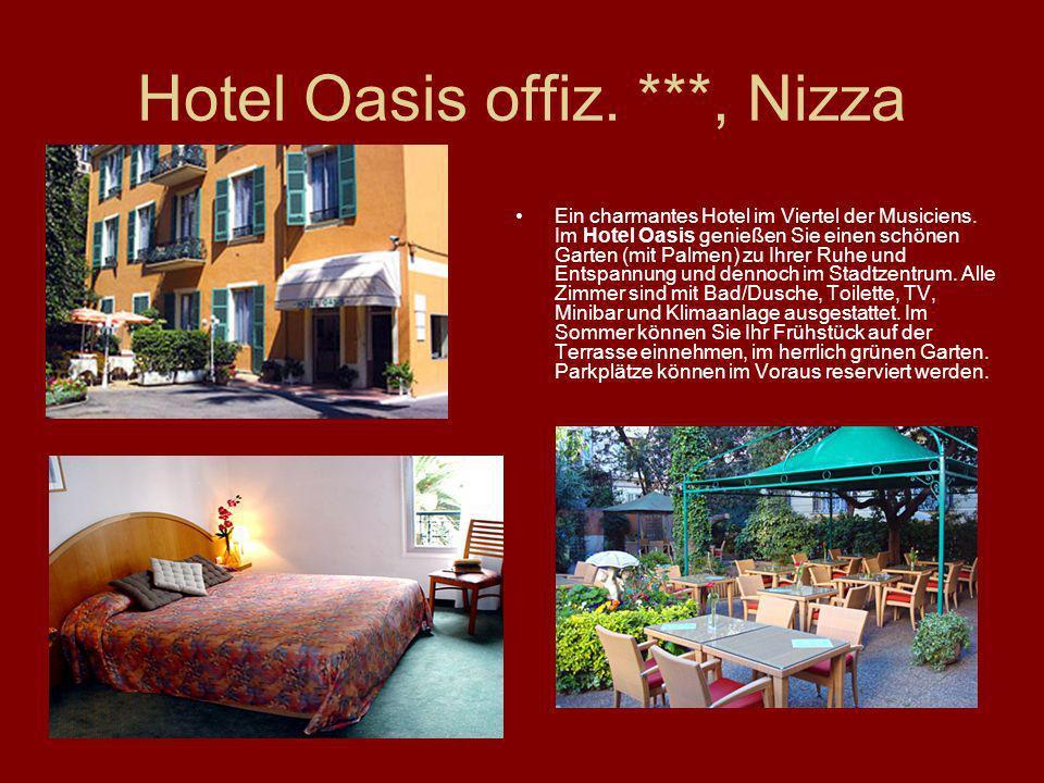 Hotel Oasis offiz. ***, Nizza