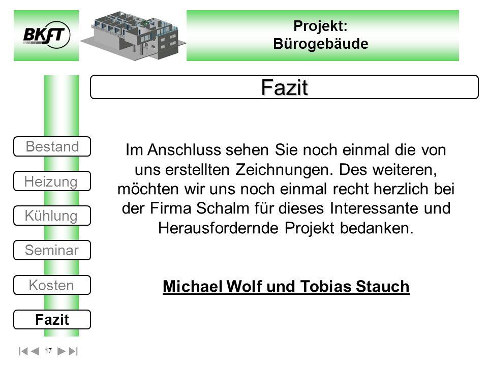 Michael Wolf und Tobias Stauch