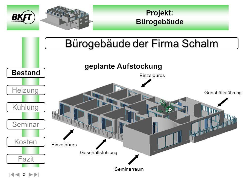 Bürogebäude der Firma Schalm
