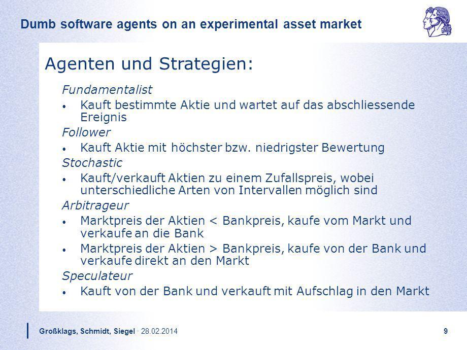 Agenten und Strategien: