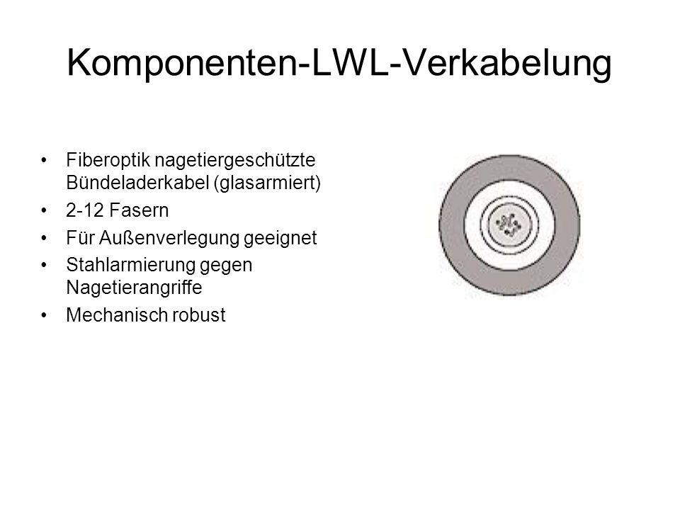Komponenten-LWL-Verkabelung